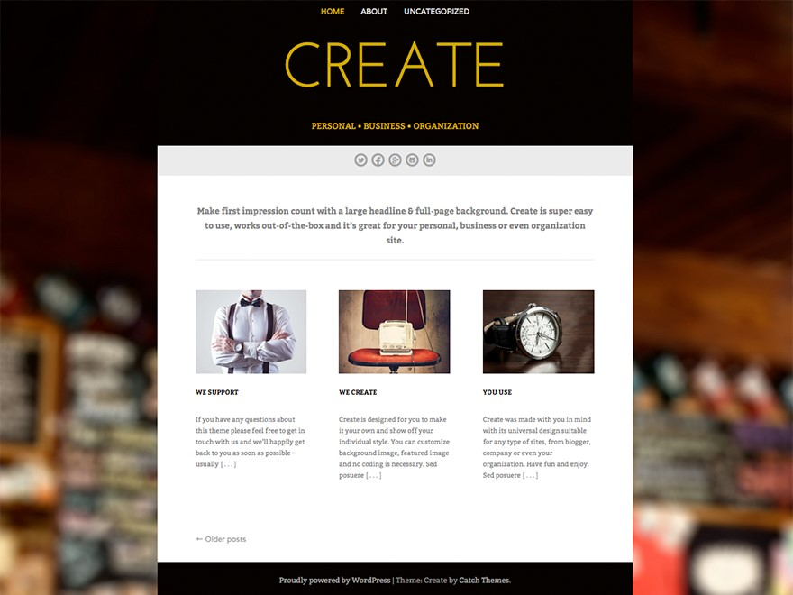 Professional Corporate WordPress Themes