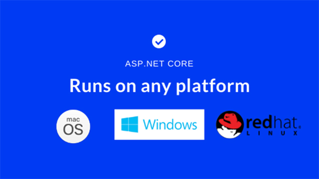 ASP.NET Core is cross-platform
