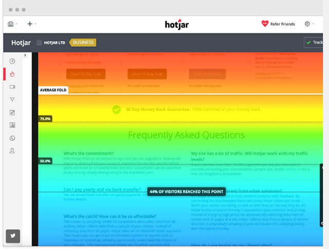 Scroll Heatmaps